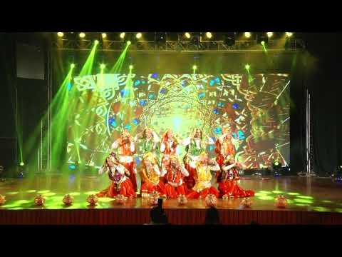 Performance of (Jankidevi Public School) under Folk Dance Category in D'Fest by Buskers