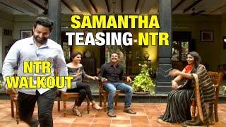 Samantha Teasing NTR - Janatha Garage Team Funny Interview - Koratala Siva