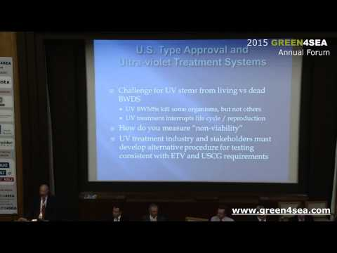 2015 GREEN4SEA Forum – Gary Croot