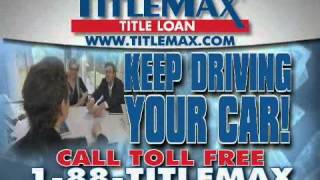 California TitleMax Title Loans Tax Refund Commercial