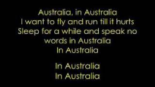 manic street preachers australia.