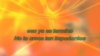 No te creas tan importante - karaoke - cover Daniela calvario - tono mujer