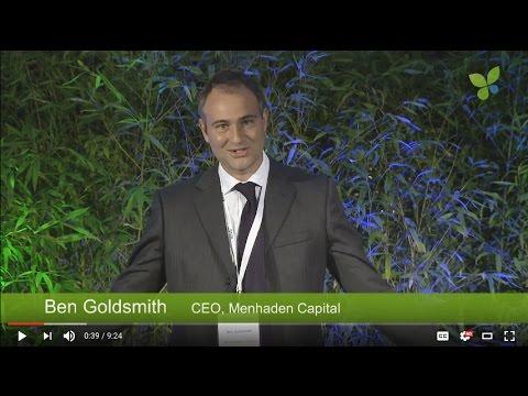 ECO16 London: Ben Goldsmith Menhaden Capital