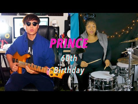 Honoring PRINCE's 60th Birthday