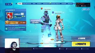 FORTNITE SHOP 20 JULY IN LIVE -PROVINI FOR THE TEAM - REGALO SKIN - CODE CREATOR: TOMSPACEWALKER