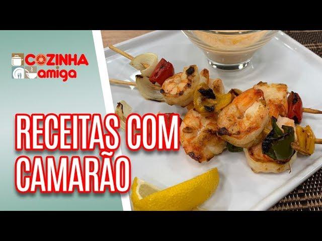 2 receitas FÁCEIS com camarão - Giuliana Giunti | Cozinha Amiga (21/01/19)