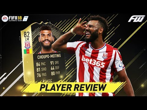 FIFA 18 IF CHOUPO MOTING Review (82) w/ In Game Stats & Gameplay