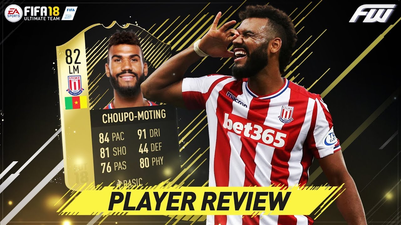 FIFA 18 IF CHOUPO MOTING Review (82) w/ In Game Stats & Gameplay - YouTube