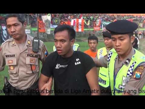 Highlight Persekabpas 7-0 Kresna Surabaya : Aksi Sakera Mania Rindu Persekabpas Pasuruan