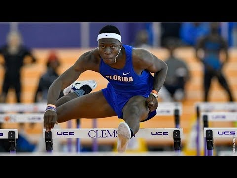 Grant Holloway New Collegiate Record 7.42