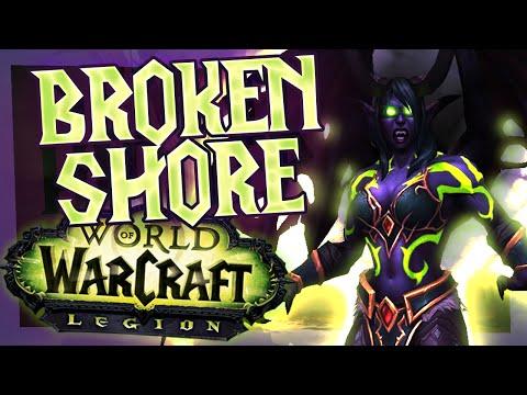 WoW Legion - Broken Shore (World of Warcraft Legion)