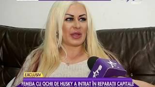 Lenna Horvath, femeia cu ochi de husky, a intrat în reparații capitale