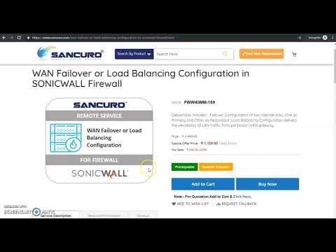 How To Configure Sonicwall Firewall  ?