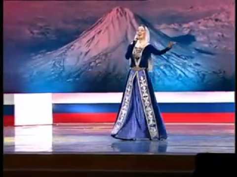 Хеда Хамзатова поёт на армянском