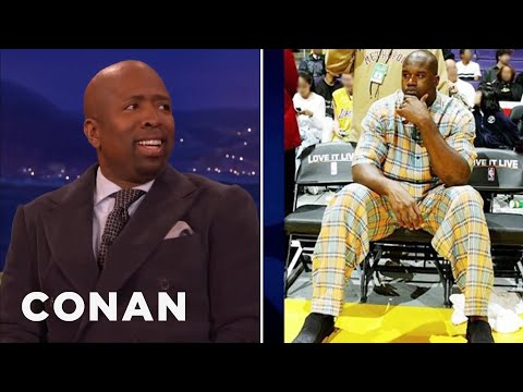 Kenny Smith Almost Killed Shaq  - CONAN on TBS