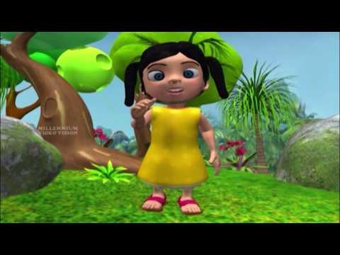 Manikkutty | കട്ടുറുമ്പും കാക്കയും  | മണിക്കുട്ടി | Malayalam Latest Kids Animation Song