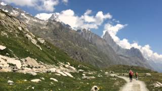 Tour du Mont Blanc TMB July 2015