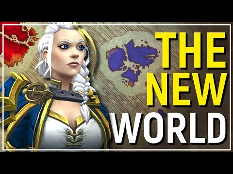 2 CONTINENTS! World & Content & Lore of WoW: Battle for Azeroth