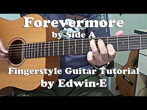 Guitar Tutorial: Forevermore by Side A (w Tabs) Fingerstyle Guitar Solo Cover