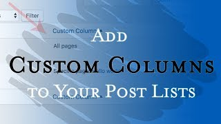 Add new columns into the post lists
