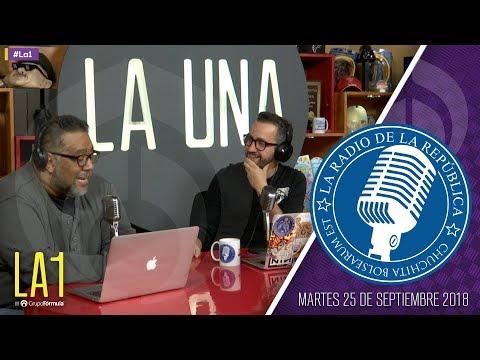 #LA1 - Peña y Chumel se despiden - La Radio de la República - @ChumelTorrres