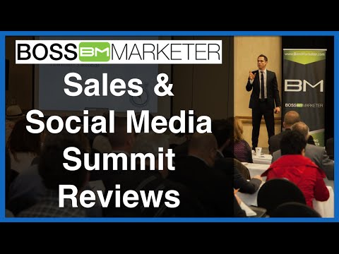 Boss Marketer Sales & Social Media Summit Reviews:  San Francisco