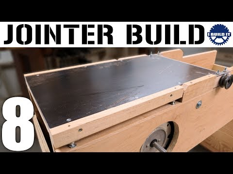 Making A 12 Inch Jointer - Let There Be STEEL!