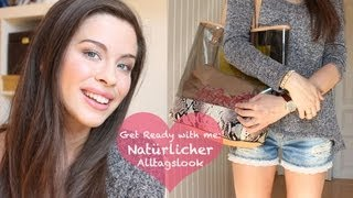 Get Ready with Me: Mein Alltagslook & OOTD - für die Universität/Schule | Back to School