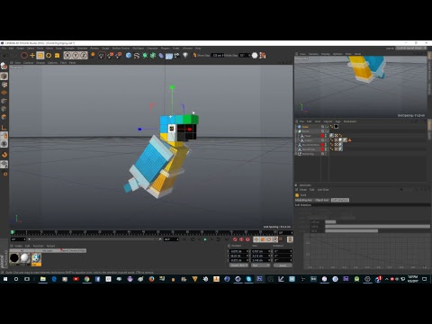 Making A Minecraft Parrot Rig