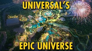 Universal's Epic Universe New Theme Park Concept Up Close | Universal Orlando