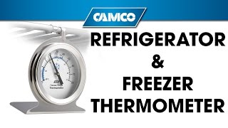 Refrigerator/freezer Thermometer From Camco