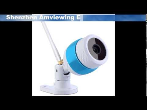 1.3MP IP65 Waterproof IR Wireless IP Camera,Outdoor HD WIFI IP Camera SD Card