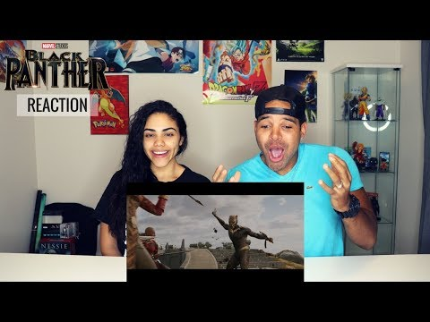 HOLD UP 2 PANTHERS!? Marvel Studio's Black Panther - Official Trailer - REACTION!!!