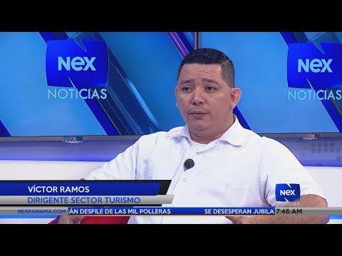 Entrevista a Víctor Ramos, dirigente del sector turismo