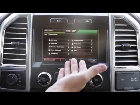 How To Use The Navigation In A 2015 Ford F 150 Youtube