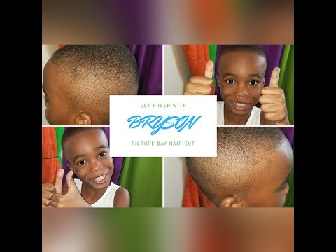 How I cut my son's  hair || Yazzy's World