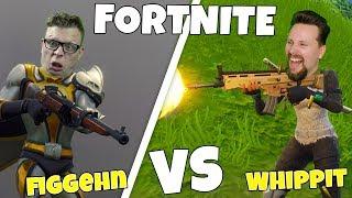 figgehn VS Whippit vid LUCKY LANDING i Fortnite *Playground*
