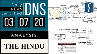 THE HINDU Analysis, 03 July 2020 (Daily News Analysis for UPSC) – DNS