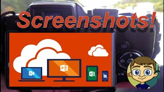 Using the Screenshot Tool in Word, PowerPoint and Excel