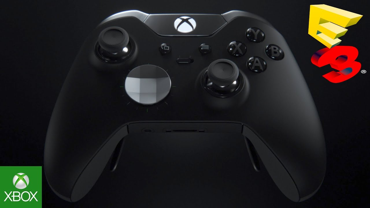 i bet scuf gaming is pissed xbox one elite controller with paddles adjustable triggers e3. Black Bedroom Furniture Sets. Home Design Ideas
