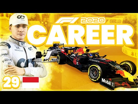 ALBON OPJAGEN IN MONACO! (F1 2020 Alpha Tauri Career Mode 29 Monaco - Nederlands)
