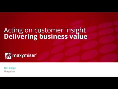 Generating customer insights to inform your A/B testing | Oracle Maxymiser and SessionCam