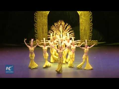 Dance of the Thousand Arms presented in Mexico City