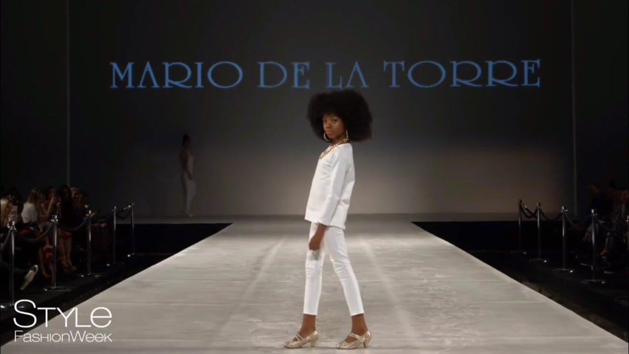 Celai West Pro Runway Reel Ss18 Mario De La Torre Style Fashion Week Los Angeles Youtube