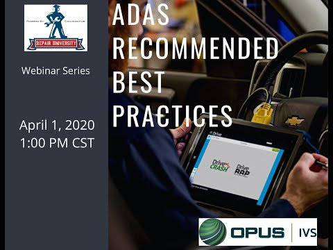 Best Practices For ADAS Scanning And Calibration In Collision Repair
