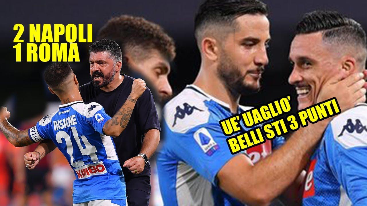 RIASSUNTO NAPOLI-ROMA 2-1  DRAW MY MATCH 