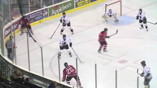 Gwinnett Gladiators: A Puck to the Face - 12-09-2009