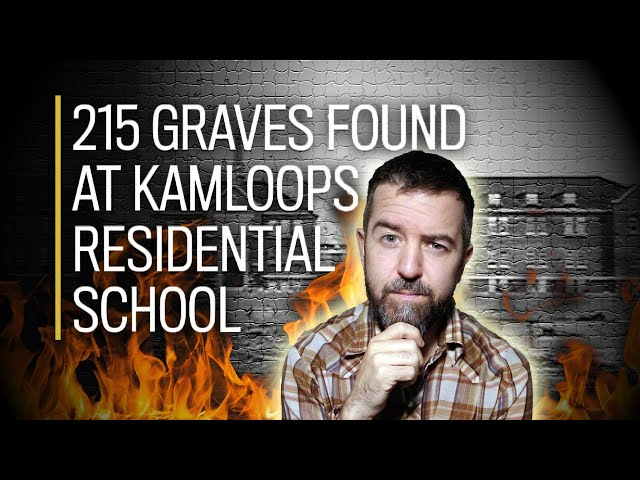 """The TRUTH About Residential School """"Mass Graves"""" It WASN'T Genocide! AMPLIFIES WAR ON CHRISTIANITY!!"""