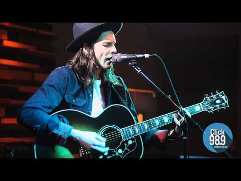 "James Bay ""Craving"" live at Click 98.9 Acoustic Lounge"