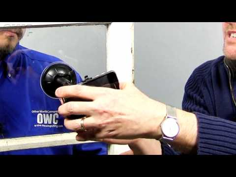 OWC TV - The Newer Technology Window Mount for iPhone 3g/3GS